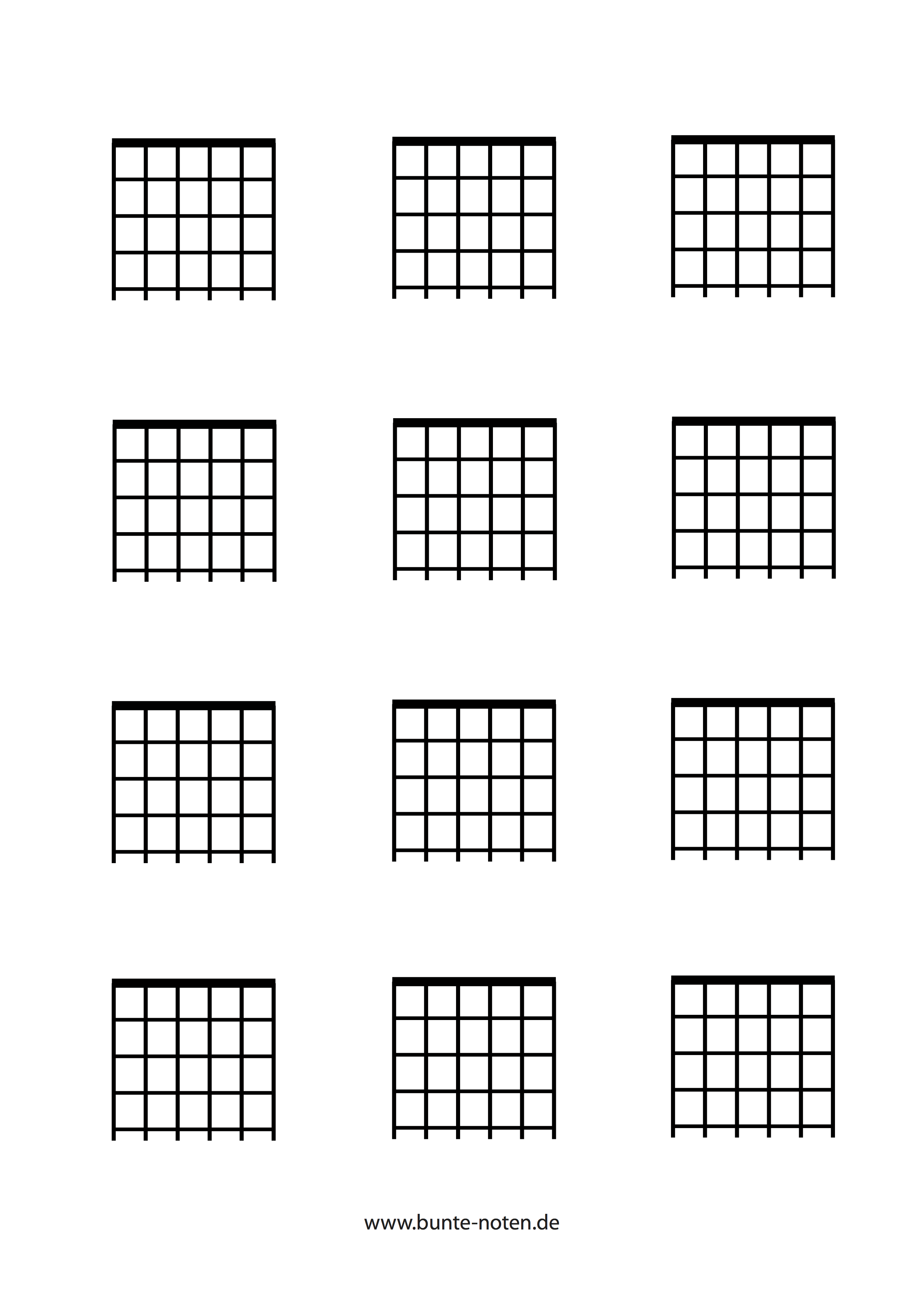 A chord for guitar