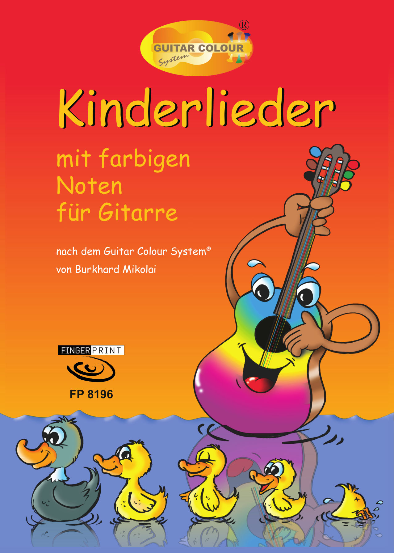 kinderlieder mit farbigen noten f r gitarre. Black Bedroom Furniture Sets. Home Design Ideas